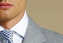 Ties / Neck decorations for men. / by Blue Square Clothing