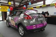 #Rhinos1st at Wacky Wine Weekend / The Rhino Orphanage Nissan Juke travelled to the Wacky Wine Weekend in the Western Cape.