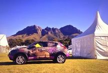 #Rhinos1st at Cape Getaway Show 2014 / The Rhino Orphanage Nissan Juke made an appearance at the Cape Getaway Show 2014. Here are some of the #Rhinos1st selfies taken at that event.