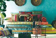 Boho interior and decor (bohemia, gypsy) / Boho Feathers Gypsy Interior