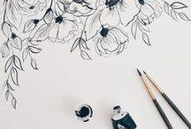 Art (watercolor, Illustration, sketch) / Paint color watercolor Illustrations sketch