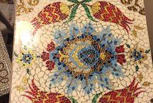 Mozaik,yağlı boya ,örgü vs. benden size