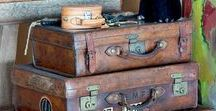 Vintage Koffer / Vintage Suitcases & Bags // Vintage Luggage