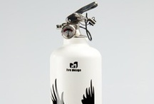 Fire exstinguishers with a designful touch of Scandinavia