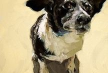 Art: dogs / by Judith Lombardi
