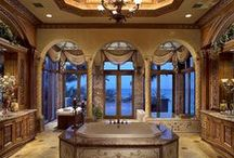 BEAUTIFUL ROOMS / KITCHENS, BEDROOMS & BATHROOMS / by Laura Rhea