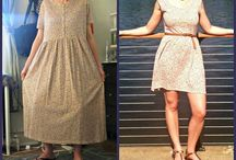 Upcycled outfits