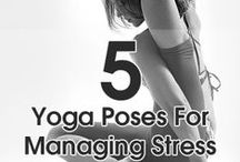 Namaste / Yoga can be done by anyone at any age! Try these moves and tips for a #healthier and #flexible body! #health