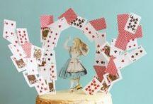 Anniversaire Alice in Wonderland