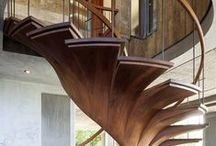 Their Majesty Stairs / Stairs as an important element of an interior design.