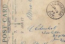 WWW1 war letters / Letter's written and sent to loved ones during ww1