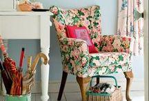 Flower Power! / Floral motifs for interior design