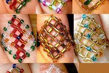 Kralen - armband, ring ,oorbellen en halssieraden