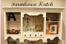 The hutch - a charm of the past times / The beauty of the old hutches