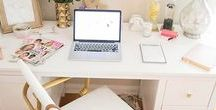 Comfy Workspace / Comfy and cosy homeoffice that inspires us to work!