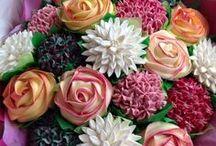 Cupcakes / Romantic Cupcake  Decorations - Teenage girly parties