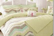 Kirstie Allsopp Bedding Collection  / A wide selection of Kirstie Allsopp Bedding from her SS13 Collection filled with vintage floral prints, patchwork and ginghams in extravagant colours.