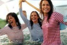 Les marins font la mode, stripe style / La mode inspirée par l'esprit bord de mer.