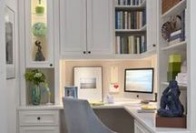 Home office & study area / by Chel M