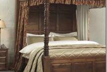Four Poster Bed Drapes / Four Poster Bed Drapes at Victoria Linen Company