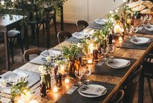 RUSTIC wedding / Rustic design has many variations but the key is a laid back vibe with a touch of good old hospitality