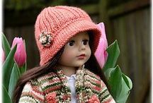Crochet Doll Clothes / Patterns for Crocheting doll clothes for your American Girl doll.