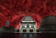 Sottoterra stellare / Most beautiful subway stations around the world
