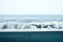 """I sea waves /  """"I'm rooted but I flow.""""- Virginia Woolf"""
