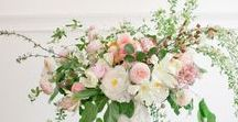 Center pieces / Lush floral center pieces... what more could you want?