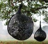 Meble z lawy wulkanicznej / Ogrodowe meble wykonane z bazaltu, bardzo wytrzymałe i odporne na wszelkie warunki atmosferyczne.