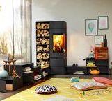 Kominek do domu z rekuperacją / Wydajne kominki wolnostojące, które można zamontować w domu z rekuperacją jak również energooszczędnym i pasywnym.