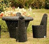 Maffam / Meble ogrodowe oraz meble do wnętrz wykonane ręcznie z lawy wulkanicznej.