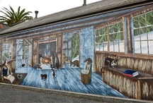 Sheffield, Tasmania / Sheffield is he Town of Murals in the north west of Tasmania.  Much more than just art on walls!