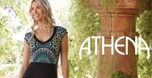 Athena / Sharing the sophisticated looks of Athena swimwear and cover ups.