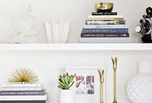 Bookcase organization / by Gloss Boudoir