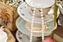 Ideas for Jessie's Bridal Shower / We're looking for a tea party type of theme with some Marie Antoinette inspiration.