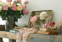 Shabby Chic & Rustic Rooms  / Lovely casual rooms / by Cheri Rhodes
