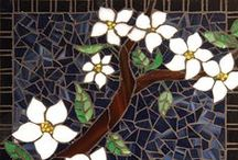 Mosaics / For around 4,000 years mosaics for multiple purposes have been created with stones, ceramics and glass.  From pathways to works of art decorating homes and places of worship they have appeared in never-ending artistic styles that continue to this day. / by Janet Pope