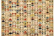 Quilts -- Flying Geese / by Dean Davis