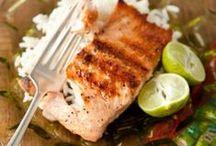 GF Main Dishes (Fish & Seafood) / by Denise Blaszynski