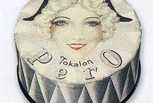 Vintage powder boxes & other makeup / Vintage makeup  / by Cheri Rhodes