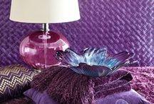 Пантон 2018. Ультрафиолет / Ультрафиолет, фиолетовый, сиреневый. Цвет пантон 2018 года в оформлении интерьеров и в декоре.