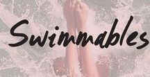 Swimmables / Go make a splash! But make sure you've got your Swimmables Water-Resistant makeup! -  http://www.cargocosmetics.com/swimmable.html
