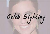 Celeb Sightings / Celebrities in gorgeous makeup.
