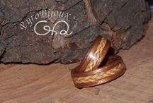 Anelli in Legno e in Acciaio e Legno / http://anellilegno.wix.com/anelli