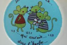 I love Mouse / Une souris verte qui courait dans l'herbe, je l'attrape par la queue......