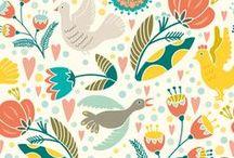 Printables, Illustrations, Patterns