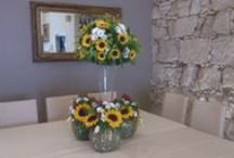 flower arrangements / various flower arrangements for wedding and ceremonies