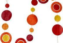 Le orange de l'automne / les couleurs retrouvées à l'automne