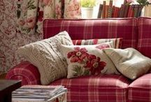 """Casual Southern Rooms / Give your house a """"Down Home"""" feel with these traditional peices that add a southern influence to your home. This board features items such as ladder back chairs, plaid & floral prints, and poster beds."""